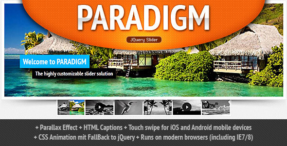 Paradigm Slider jQuery Plugin