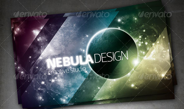 Nebula Design Card