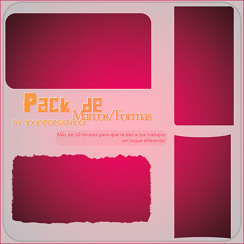 Pack de Marcos -Shapes-