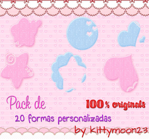 Pack de 20 Shapes para PS