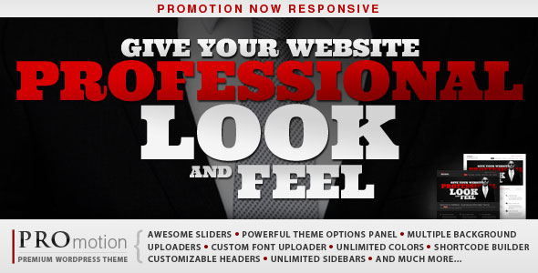 ProMotion Responsive WordPress Theme