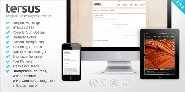 Tersus - Responsive WordPress Theme