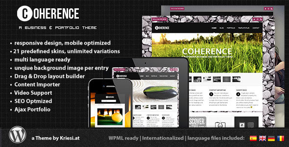 Coherence Responsive Business & Portfolio