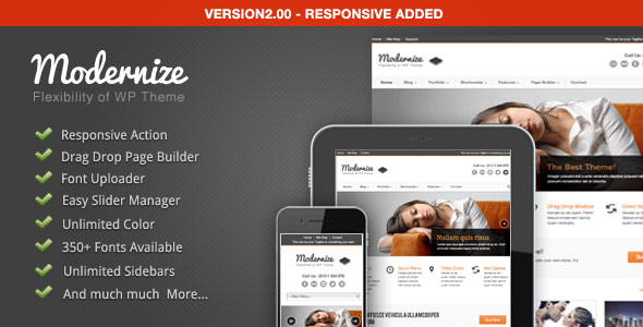 Modernize - Flexibility of WordPress