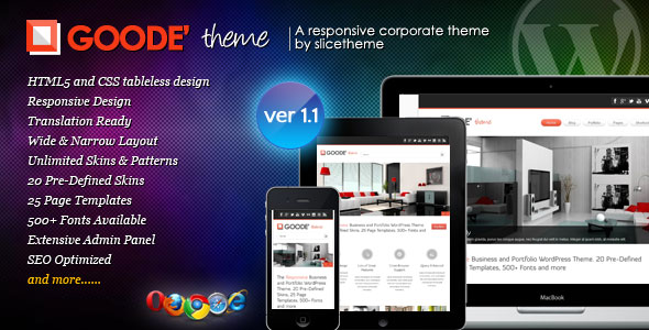 Goode - Responsive Business WordPress Theme