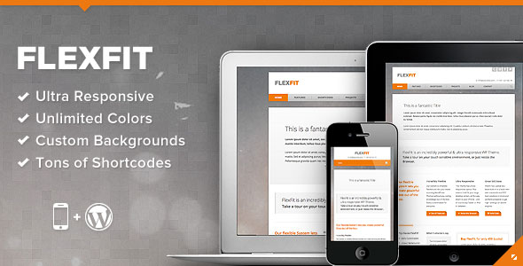 FlexFit - Responsive Business WordPress Theme