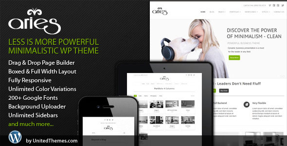 Aries Responsive Business WordPress Theme