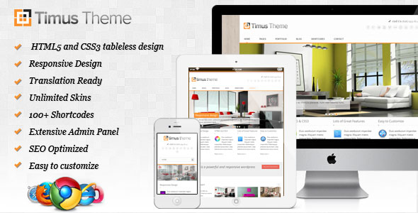 Timus - Responsive Business WordPress Theme