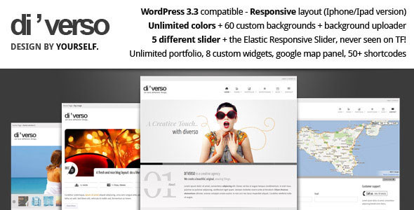 Di'verso - A Flexible WordPress Theme