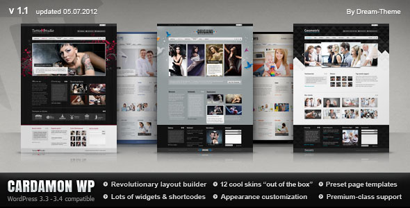 Cardamon WP — Multipurpose WordPress Theme