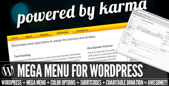 PBK Mega Menu for WordPress