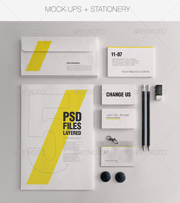 15 High Quality PSD Mock-Up Templates