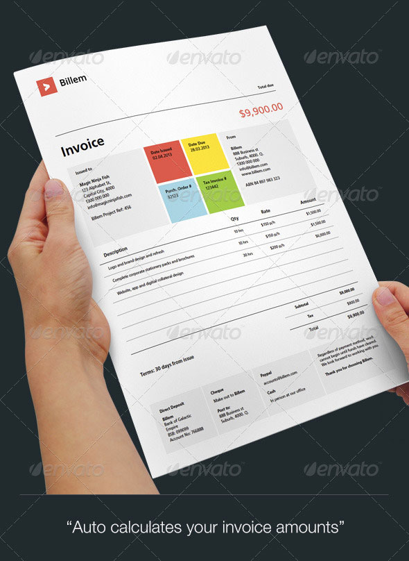 Best Invoice & Proposal Templates