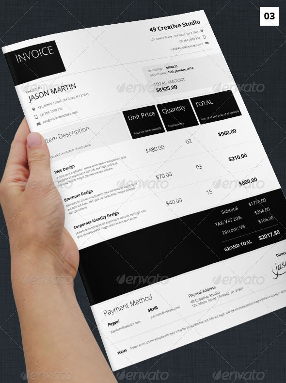 best invoice  u0026 proposal templates