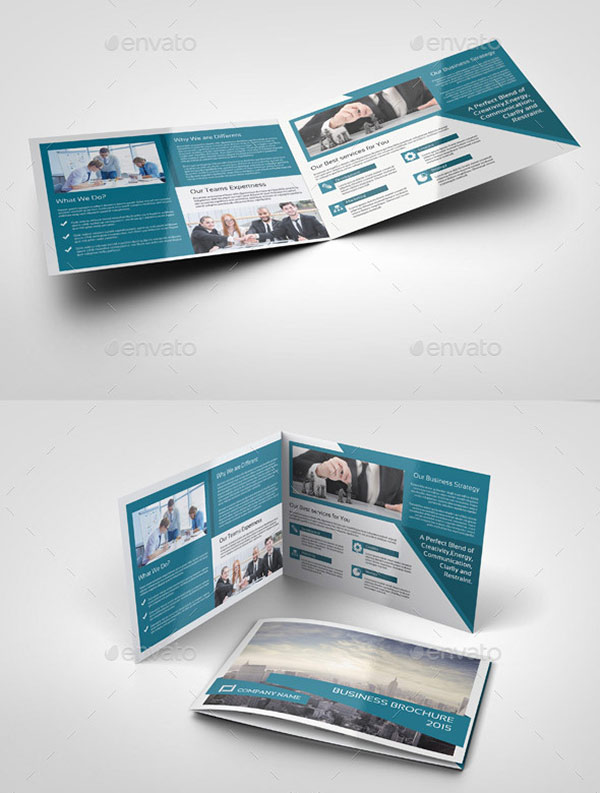 4 Page Brochure Template. cs6 indesign multiple pages to a printed ...