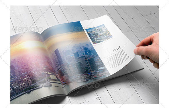 Creative Portfolio Brochure Design Templates Print IDesignow - Brochure design templates indesign
