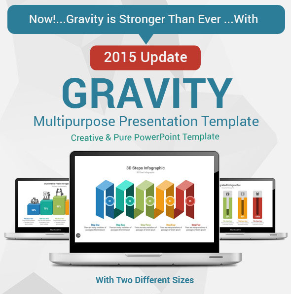 Gravity PowerPoint Presentation Template