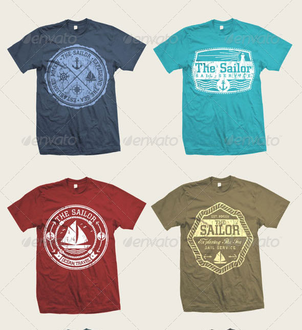 26 Awesome EPS, AI & PSD T-Shirt Design Templates | print | iDesignow