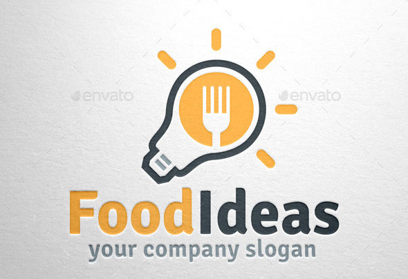 Food Ideas Logo Template