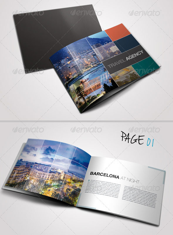 Wonderful Psd  Indesign Travel Brochure Templates  Print