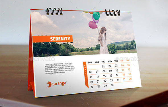 Table Calendar Design : Best calendar template designs print idesignow