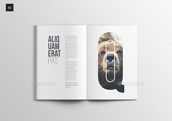 20 best psd magazine mockup templates photoshop idesignow for Magazine cover page template psd