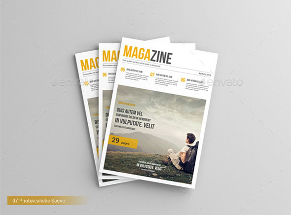 20 Best Psd Magazine Mockup Templates Photoshop Idesignow