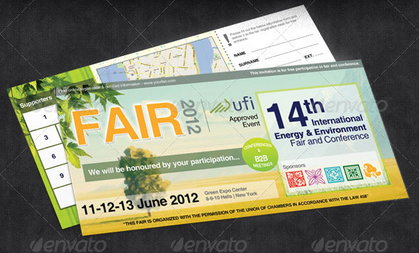 Green & Eco Fair Ticket