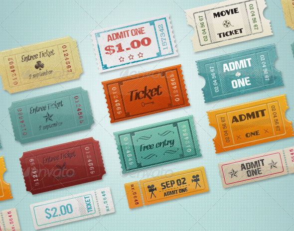 12 Vintage Event Cinema Tickets