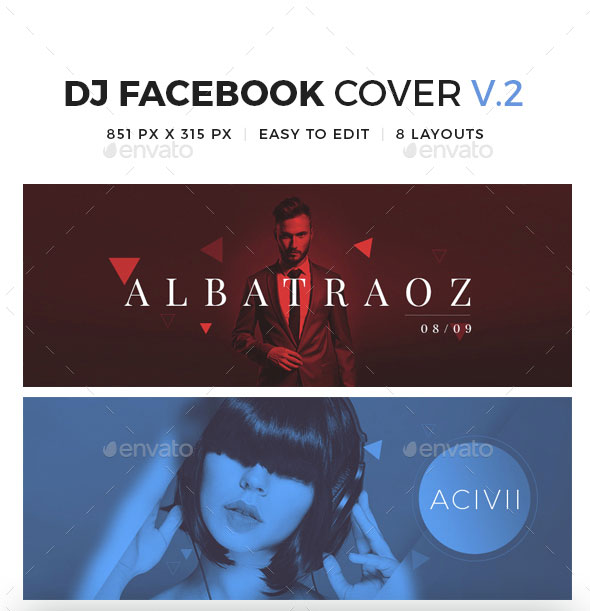 Dj Facebook Cover V2