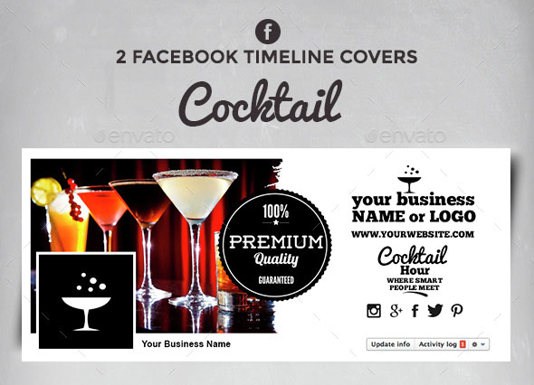 Facebook Timeline Covers - Cocktail