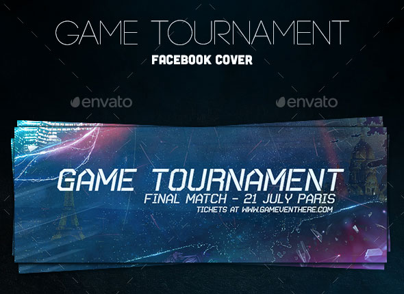 Game Tournament Facebook Cover