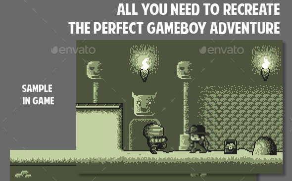 Spelunking Gameboy Pack 3