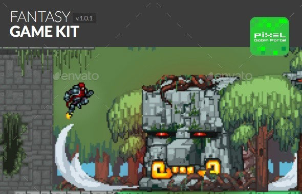 Fantasy Sidescroller Game Kit