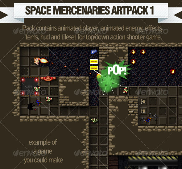 Space Mercenaries Artpack 1
