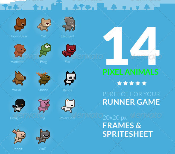 25 awesome pixel art game assets 2d idesignow