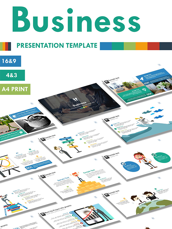 Business PowerPoint Presentation Templates