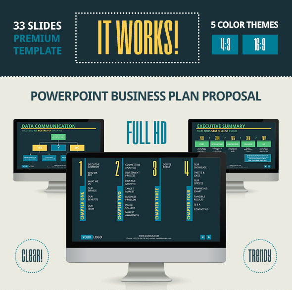 It Works PowerPoint Template