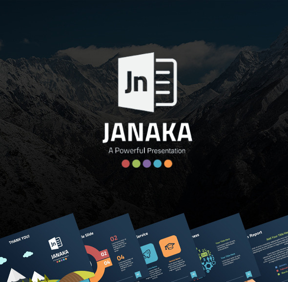 Janaka - Multipurpose PowerPoint Template
