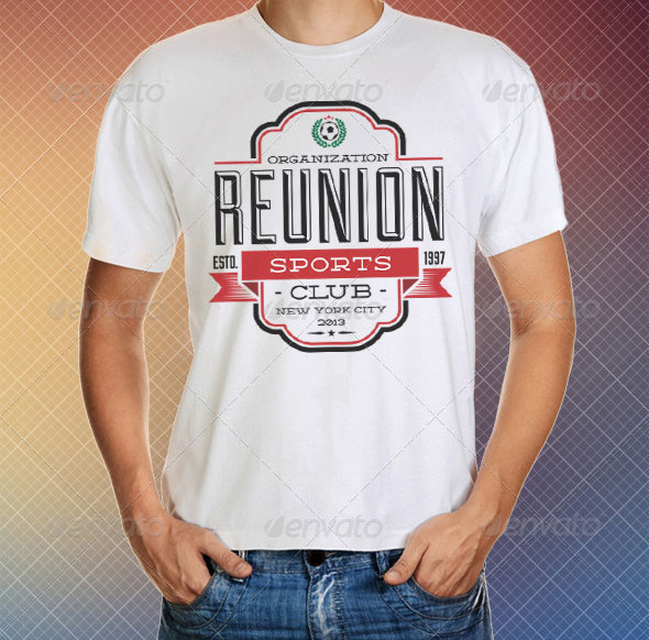 Reunion T-Shirt Templates