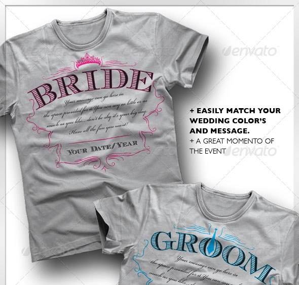 Bride & Groom T-Shirt