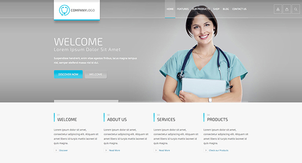 RT-Theme 20 | Medical, Health, Laboratory and Medical Product Catalog Theme