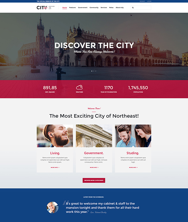 City Government & Municipal Portal