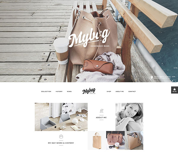 MyBag Single Product WooCommerce Theme