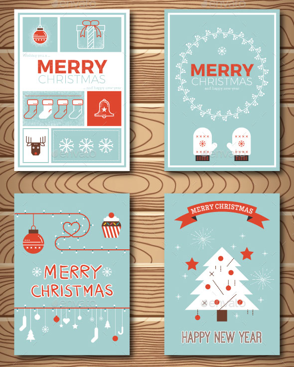 20 Christmas Greeting Cards