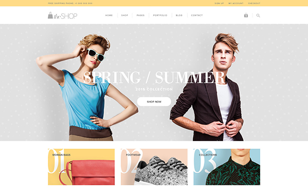 theShop - Retina Responsive WordPress Shop Theme