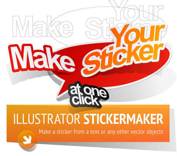 Sticker Maker. Adobe Illustrator Graphic Styles