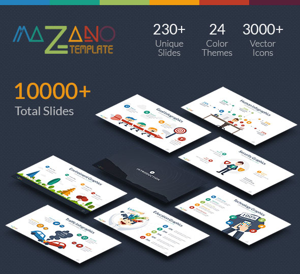 Mazano - Multipurpose Powerpoint Template