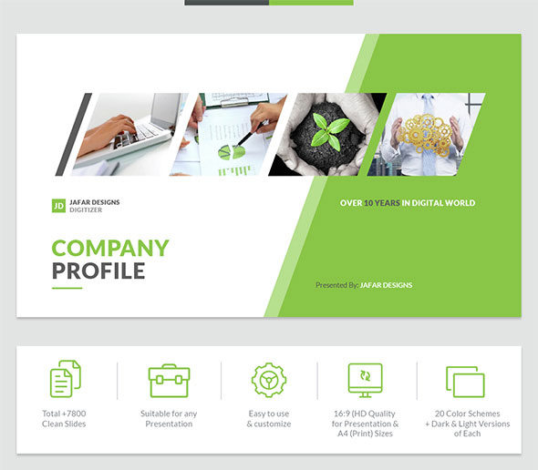 Best PowerPoint Templates Pptx IDesignow - Best of company profile ppt scheme