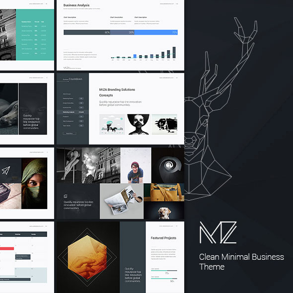 Miza - Business Clean Theme
